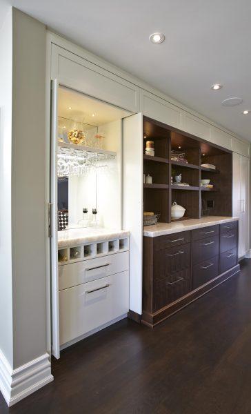 Kitchen redesign pantry