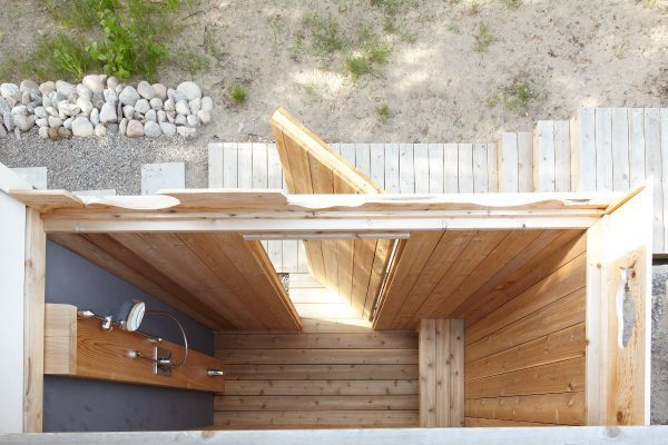 Outdoor Shower Beach Cottage